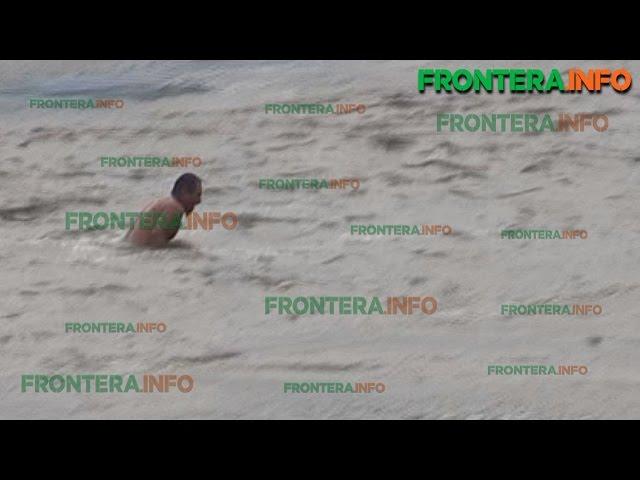 Hombre se lanza al río Tijuana; bomberos lo rescatan