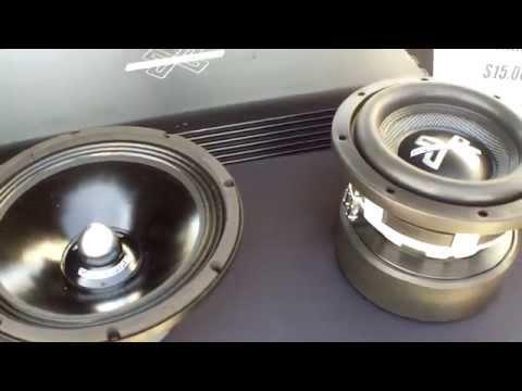 Crossfire Car Audio Display at Slamology