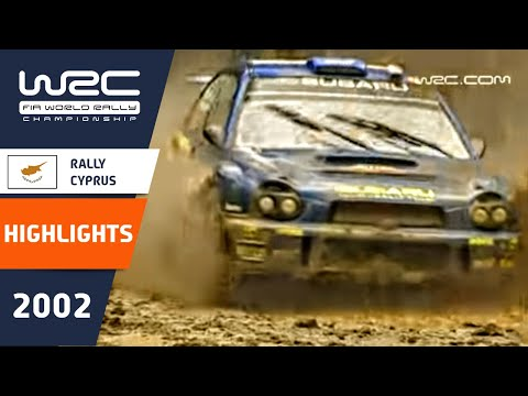 WRC Daily Highlights: Cyprus 2002 Day 2: 26 Minutes