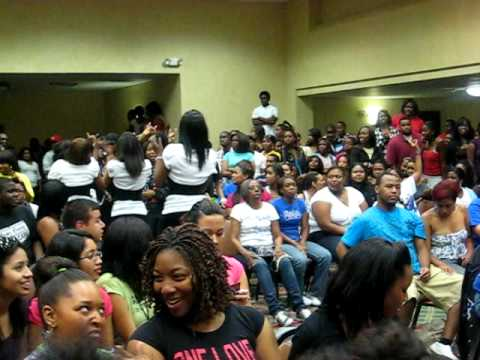 Zeta Phi Beta Sorority Inc. (Phi Epsilon Chapter) Spring 2009 Probate Video 5 of 5