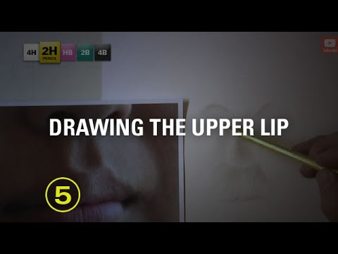 How to Draw Mouths: Drawing the Upper Lip