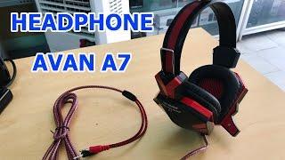 Headphone Avan A7 chuyên dùng cho tiệm net