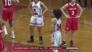 High School Girls Basketball: Slippery Rock vs Meadville (Feb 11, 2019)