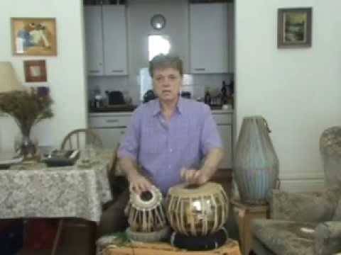 White India - Tabla lesson 40 - Ektaal  Theka in madhya - drut...