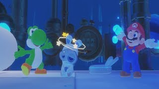 Mario + Rabbids Kingdom Battle - Yoshi Appearance / Yoshi Saves Spawny