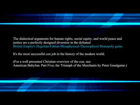 The Hegelian Dialectic and The Third Wave Synthesis part 2