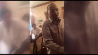 Here is a video showing Ambassador oromo activists asking a question Girma biru and see what happens