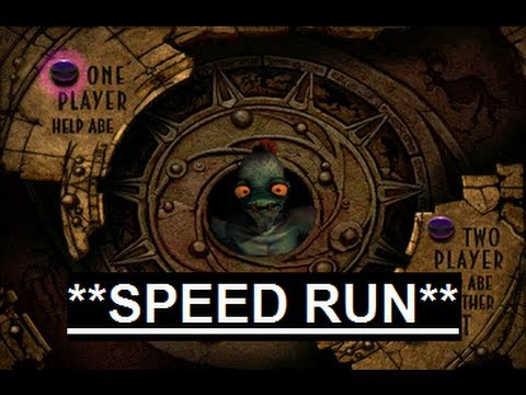 Abe's Oddysee - Maximum Casualties (in 39 minutes, 42 seconds!) TA Speed Run
