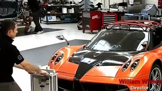 Pagani HUAYRA - How its made production processes?