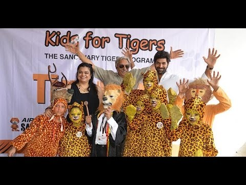 AIRCEL JOINS HANDS WITH KIDS IN MUMBAI TO SAVE OUR TIGERS