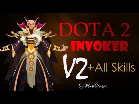 Invoker All Skills Combo