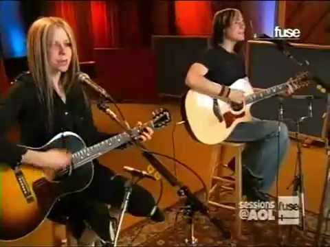 Avril Lavigne - My Happy Ending (live Acoustic At Aol Session) video