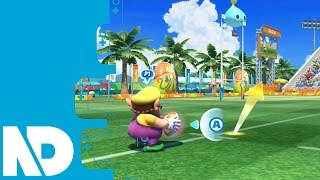 [Mario & Sonic Rio 2016 Wii U] Rugby Sevens Gameplay