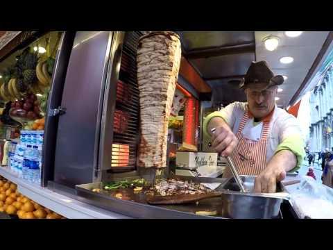 Лучшие мастера Донер Кебаб - The best masters Doner Kebab in Istanbul | Лучшая Шаурма