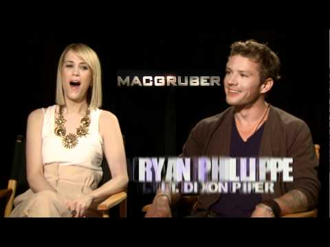 MacGruber - Interviews With Will Forte And Kristen Wiig And Ryan Phillippe