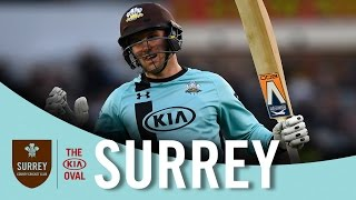 Jason Roy's T20 century against the Sussex Sharks