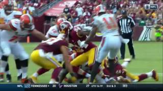 Browns Fumble Vs Redskins Ball Disappears