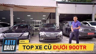 Dưới 900 triệu mua được 6 mẫu xe ô tô cũ này (có cả CR-V, CX-5, Camry, LEXUS)