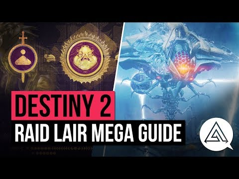 DESTINY 2 | Ultimate Raid Lair 'Eater of Worlds' Guide - Argos Boss & All Encounters