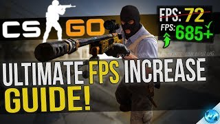 CSGO Dramatically increase performance  FPS with