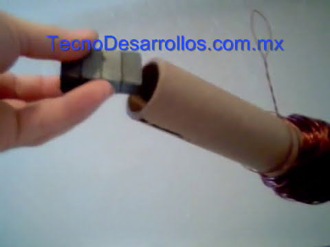 Generador eléctrico simple energía renovable energía alternativa.wmv