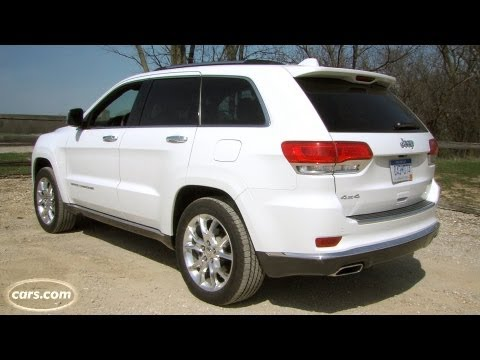 2014 Jeep Grand Cherokee Summit exhaust note