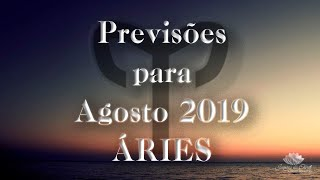 ÁRIES Agosto 2019 - Uma revolução vai acontecer