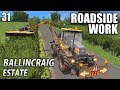 ROADSIDE WORK - Ballincraig Estate | Farming Simulator 17 - Episode 31