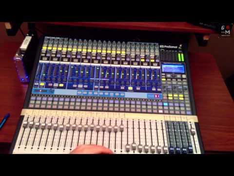 Caracteristicas de la consola Presonus StudioLive 24 - Grabacion y Mezcla