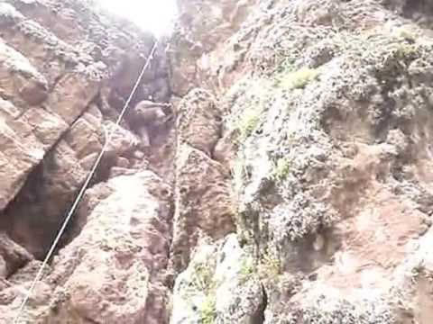 ROCK CLIMBING EN LA CATEDRAL, CUSCO.