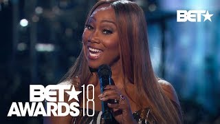 Yolanda Adams Sings Anita Baker's 'You Bring Me Joy' | BET Awards 2018