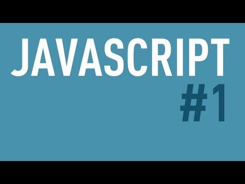 JavaScript Tutorial Teil 1 - Einführung, Integration mit HTML und Hallo Welt