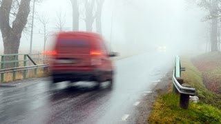 How to Drive in Rain or Fog | Driving Lessons