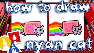 How To Draw The Nyan Cat