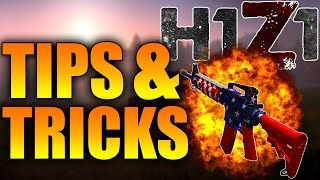 H1Z1 BEGINNER TIPS AND TRICKS! BULLET DROP, BEST WEAPON, RETICLE, AIM GUIDE and MORE (H1Z1 KOTK)