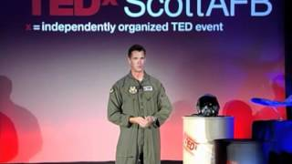 There Are Some Fates Worse Than Death: Mike Drowley at TEDxScottAFB
