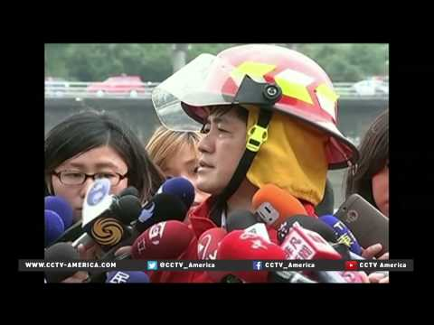 Death toll rises in Taiwan plane crash caught on video