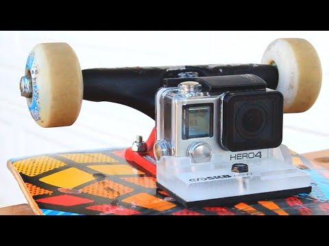 GOPRO MOUNT FOR YOUR SKATEBOARD!