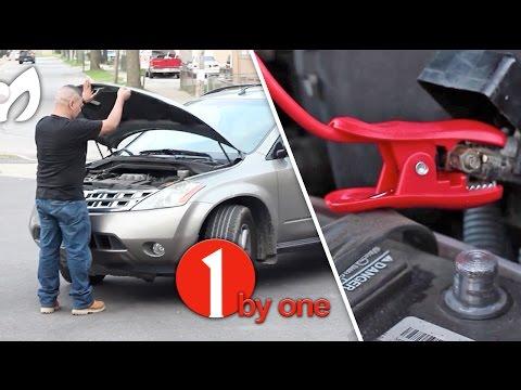 Fácil y rápida solución. cuando muere batería del carro #1byone
