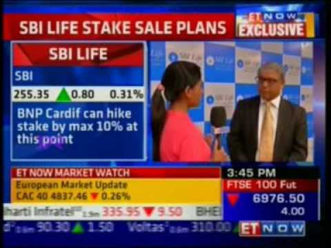 ET Now Interview with Mr. Arijit Basu | MD & CEO | SBI Life
