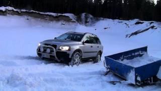 Volvo XC90 2.5T snow Finland