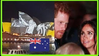 Prince Harry and Meghan Markle Invictus Games Ceremony | Royal Visit Australia