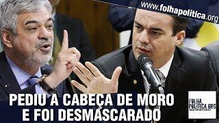 Senador petista Humberto Costa ataca Sergio Moro com distorções e é desmascarado por Capitão
