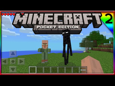 MINECRAFT POCKET EDITION: SURVIVAL W FACECAM Ep:2