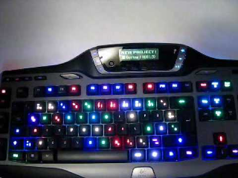 Colour Control of EACH Key - Logitech G15 RGB MOD