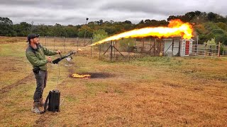 I FINALLY GOT A NEW FLAMETHROWER!!!