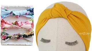 How to Make Turban Knot Headband