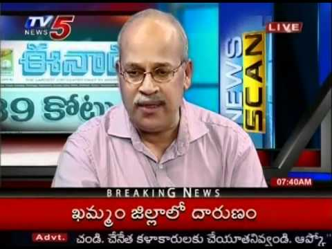 TV5 Telugu News  - News Scan 21/10/2011 (Part 02)
