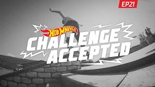 Grind The Ledge 180 Off - Hot Wheels Challenge Accepted