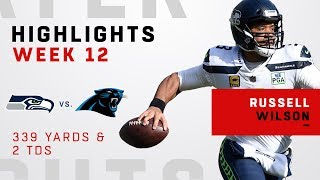 Russell Wilson Highlights vs. Panthers